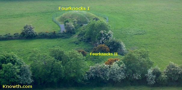 Fourknocks Aerial View