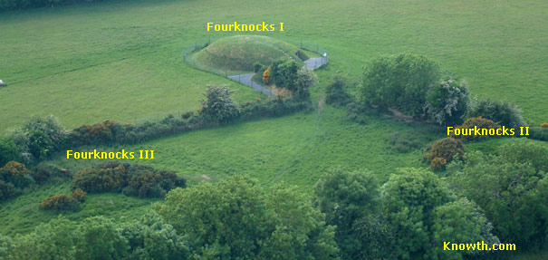 Aerial View of Fourknocks, Ireland
