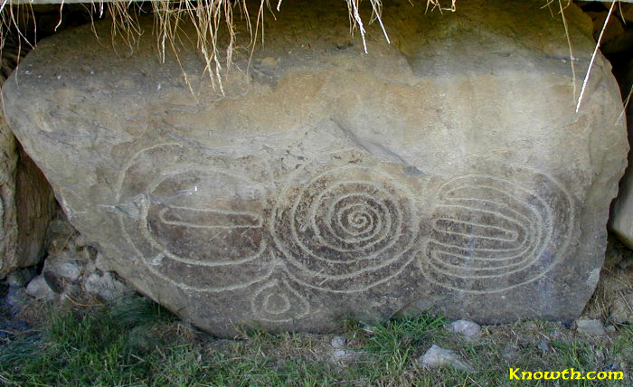 Knowth Kerbstone K5