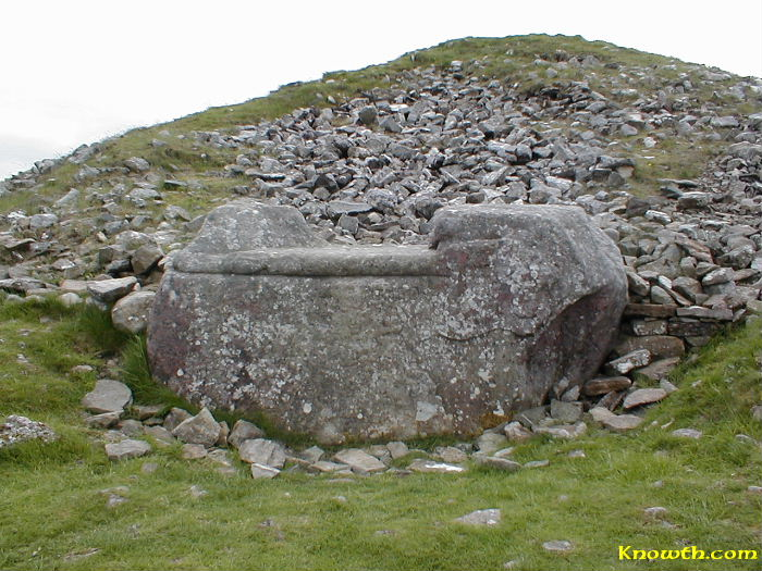 K29 also known as the 'Hag's Chair', Loughcrew