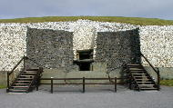 Entrance to Newgrange Passage Tomb