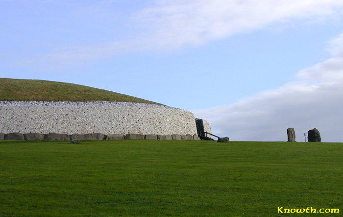 Newgrange Side View