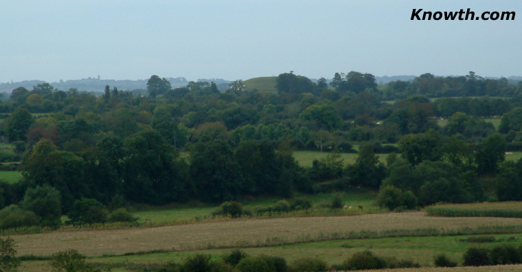 View of Newgrange from Townleyhall
