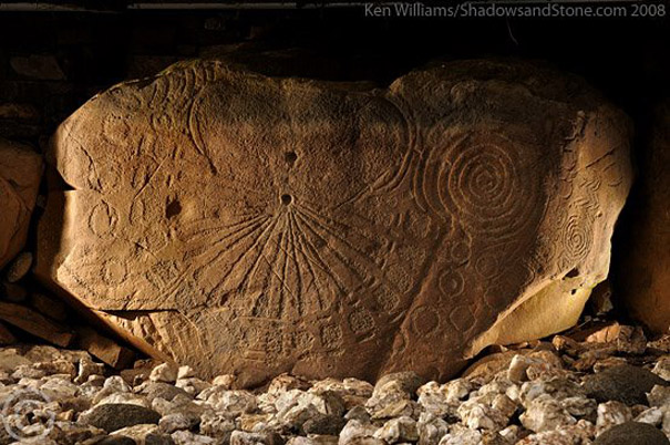 Knowth Kerbstone K15 by Ken Williams