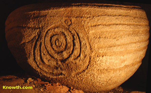 Knowth basin stone