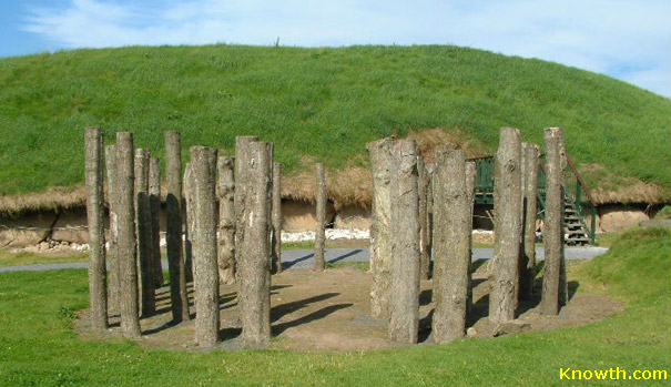 Timber Circle - Knowth