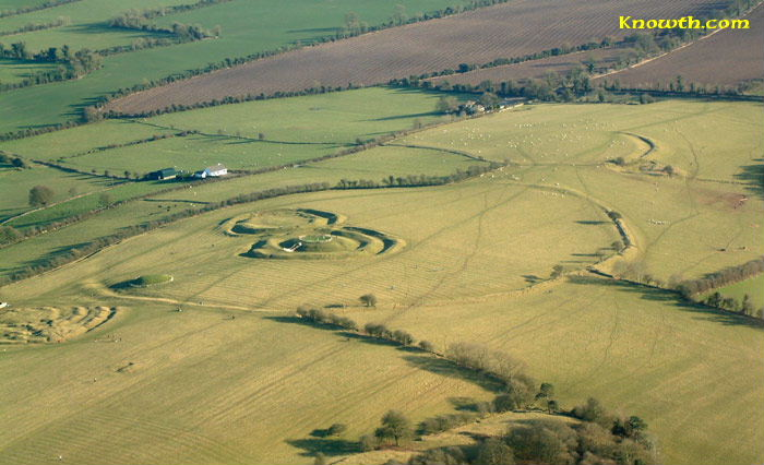 Hill of Tara Aerial view