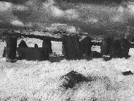 Drombeg Stone Circle - Infrared Image by Hermann Klecker