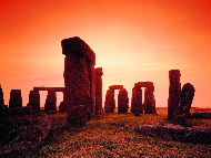 Stonehenge - megalithic structure on the Salisbury Plain in Wiltshire, England